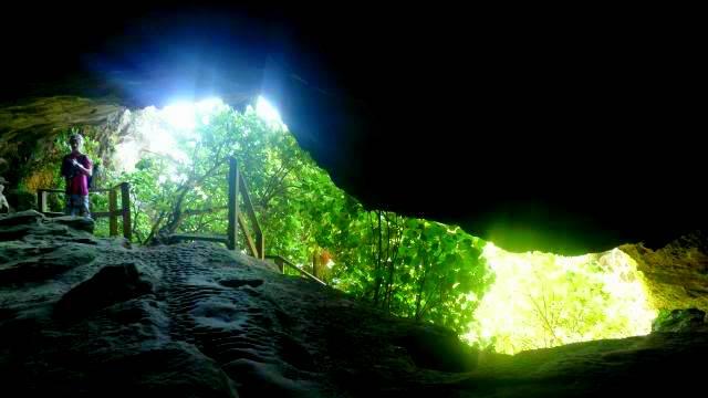 Limestone Cave, Punakaiki, New Zealand