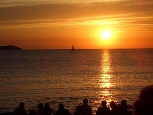 Balearic island of Ibiza
