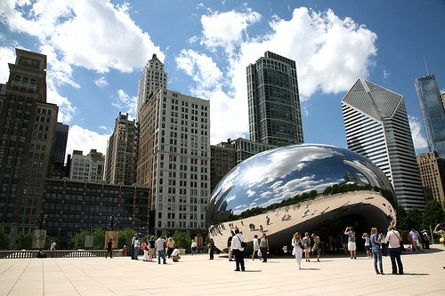 Best Views In Chicago Millennium Park