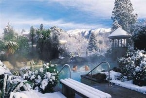 hot springs as New Zealand