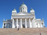 Helsinki, Finland - A Quick Meeting With Santa Claus