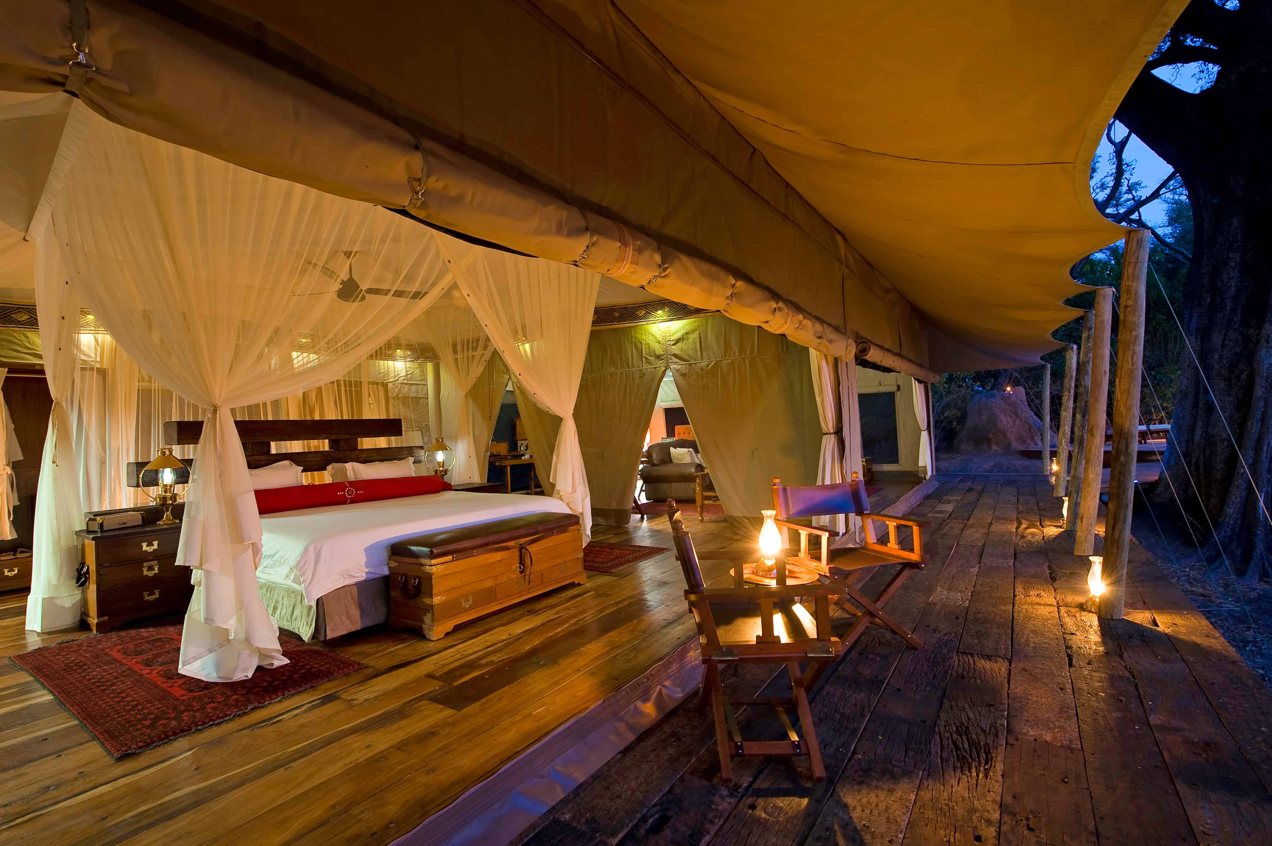 TOP 10 BEST LUXURY SAFARI CAMPS IN AFRICA