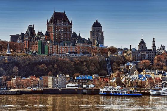 Beautiful Buildings in Quebec