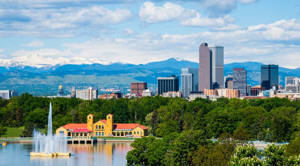 Best Time to Visit Denver Colorado downtown with City Park