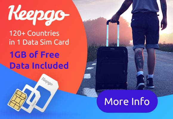Global SIM Card from Keepgo