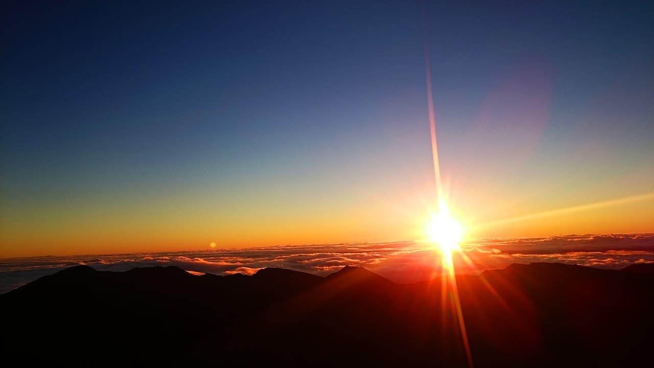 Sunrise Haleakala National Park