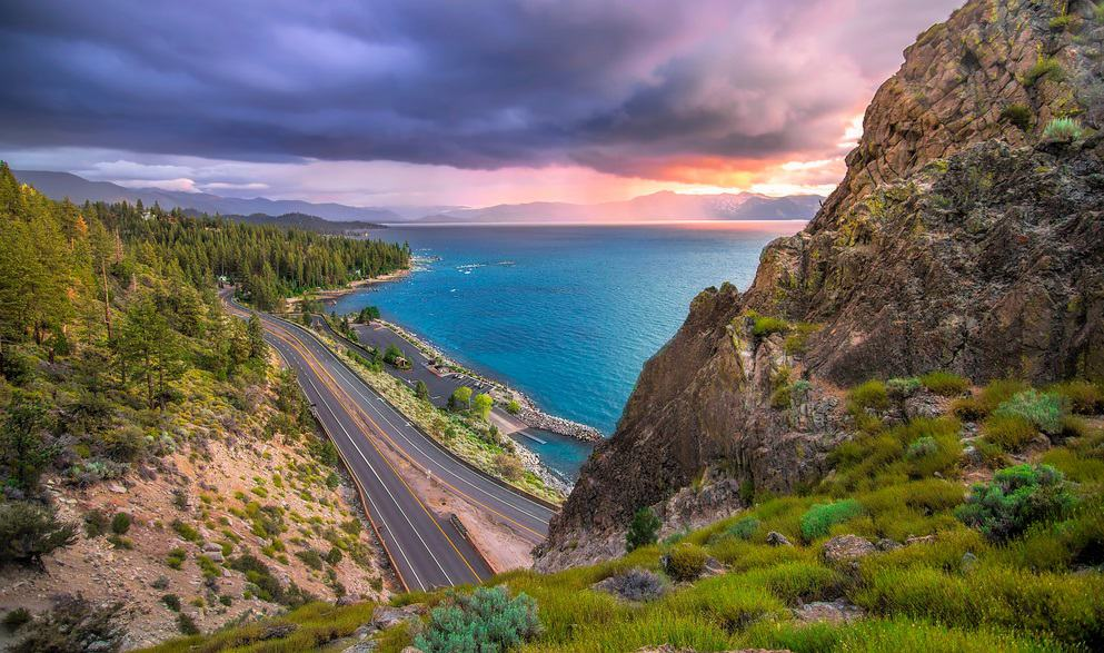 View near Cave Rock, Lake Tahoe