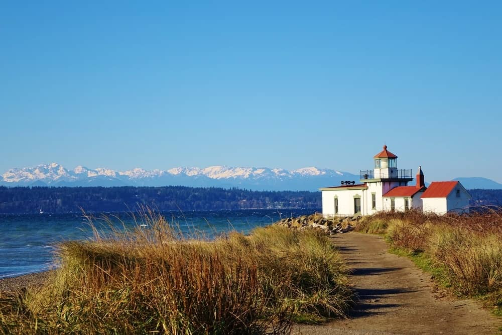 West Point Light is a lighthouse at Discovery Park