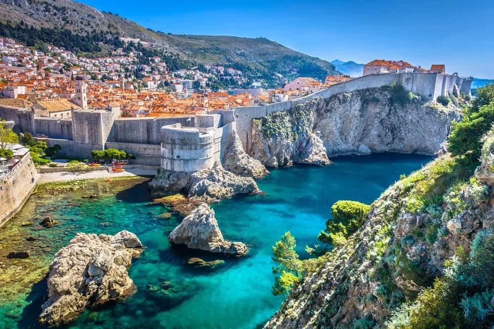 famous european travel destination in Croatia