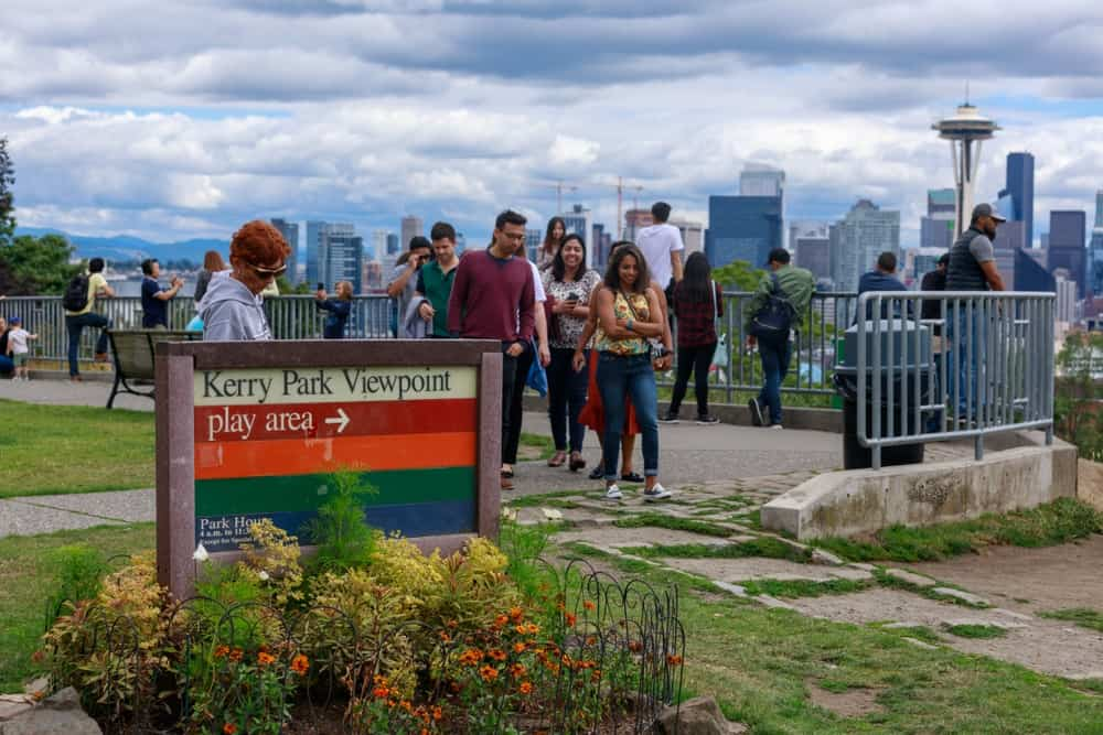 Best Time to Visit Kerry Park